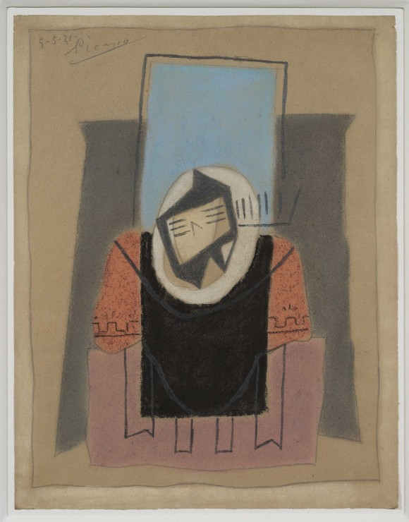 "<span class=""artist""><strong>Pablo Picasso</strong></span>, <span class=""title""><em>Guitare sur une table</em>, 1921</span>"