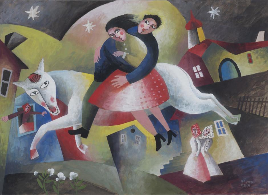 """<p><span class=""""artist""""><strong>Béla Kadar</strong></span>, <span class=""""title""""><em>Sans titre</em>, 1924</span></p>"""