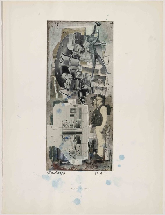 "<span class=""artist""><strong>Eduardo Paolozzi</strong></span>, <span class=""title""><em>Colloquio</em>, 1949</span>"