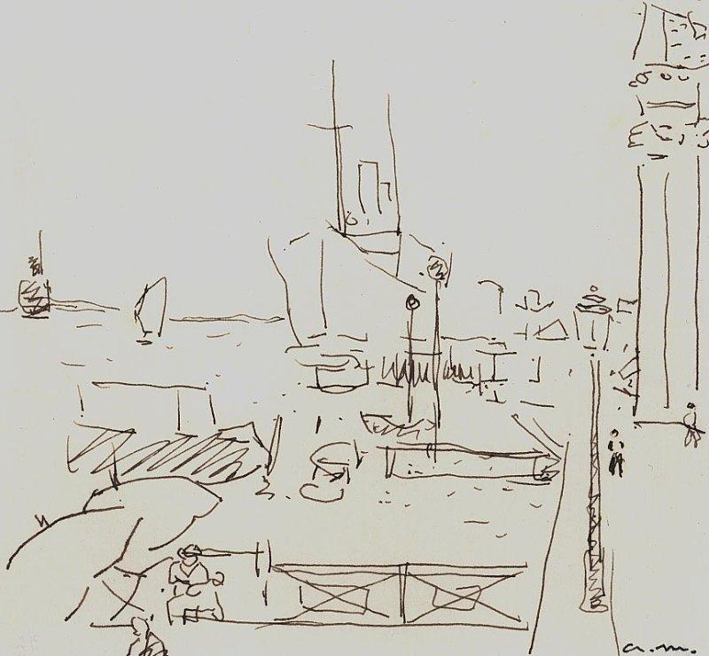 "<span class=""artist""><strong>Albert Marquet</strong></span>, <span class=""title""><em>Le quai des Esclavons</em>, 1936</span>"