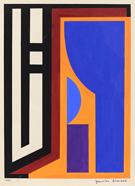 "<span class=""artist""><strong>Geneviève Claisse</strong></span>, <span class=""title""><em>Listz</em>, 1959</span>"