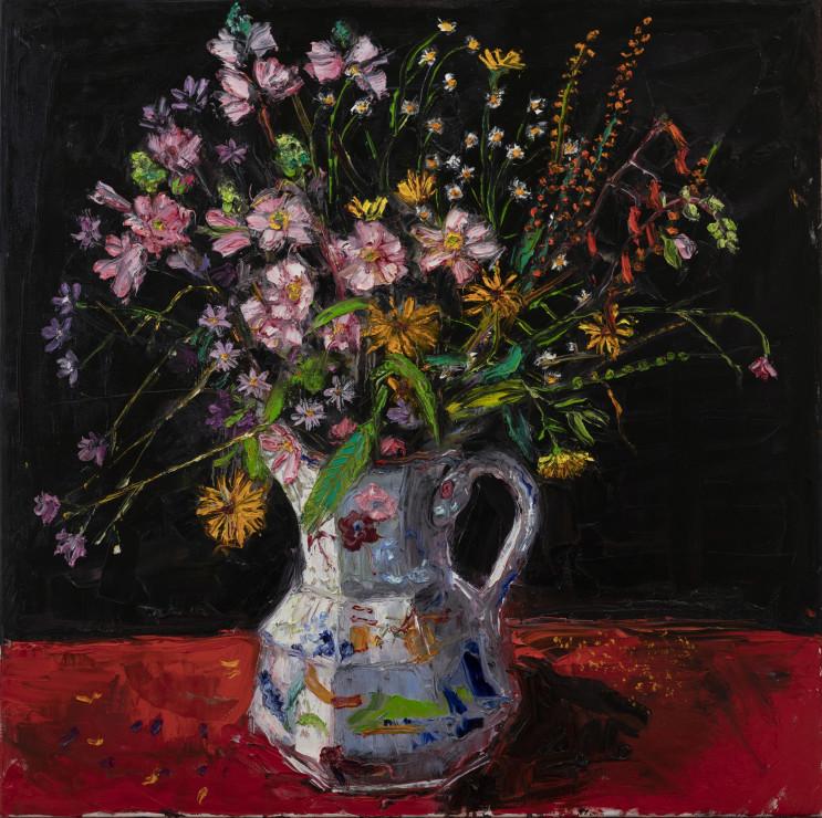 "<span class=""artist""><strong>Shani Rhys James</strong></span>, <span class=""title""><em>Japanese Anemones</em>, 2020</span>"