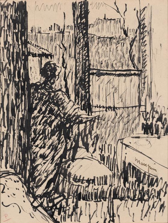 Henri Manguin, Jeanne à la fenêtre, rue Boursault, 1903
