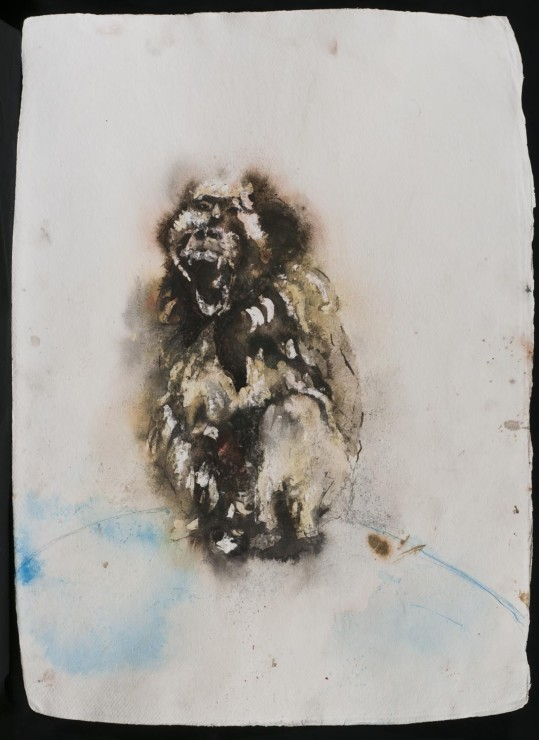 "<span class=""artist""><strong>Paul Richards</strong></span>, <span class=""title""><em>London Monkey</em>, 2014</span>"