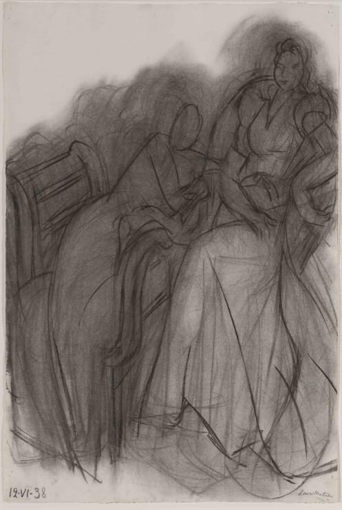 "<span class=""artist""><strong>Henri Matisse</strong></span>, <span class=""title""><em>Deux femmes assises</em>, 12 June 1938</span>"