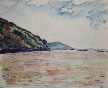 """<span class=""""artist""""><strong>Albert Marquet</strong></span>, <span class=""""title""""><em>L'entrée des portes de fer, Danube</em>, 1933</span>"""