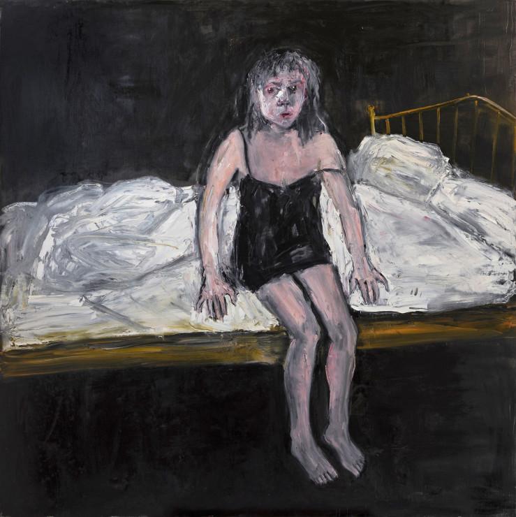 "<span class=""artist""><strong>Shani Rhys James</strong></span>, <span class=""title""><em>Bed</em>, 2021</span>"
