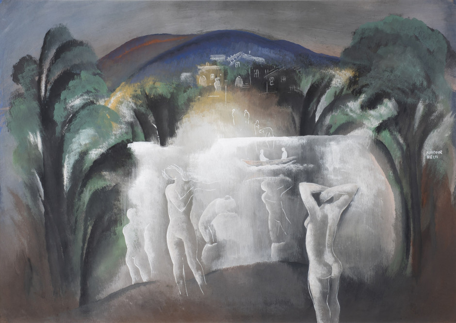 "<p><span class=""artist""><strong>Béla Kadar</strong></span>, <span class=""title""><em>The Bathers</em>, c. 1940</span></p><p>SOLD</p>"