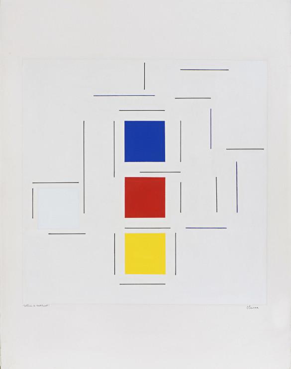 """<span class=""""artist""""><strong>Geneviève Claisse</strong></span>, <span class=""""title""""><em>Collision de constituant</em>, 2002</span>"""