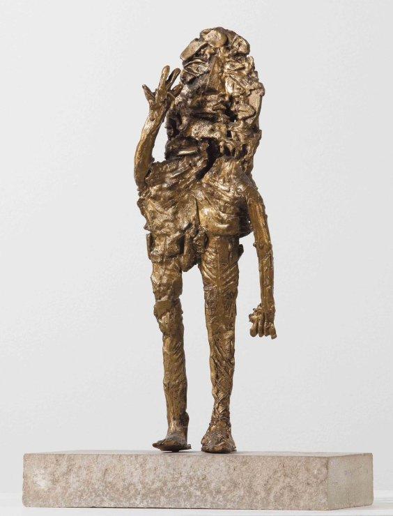 "<span class=""artist""><strong>Eduardo Paolozzi</strong></span>, <span class=""title""><em>Bronze man</em>, c. 1950</span>"