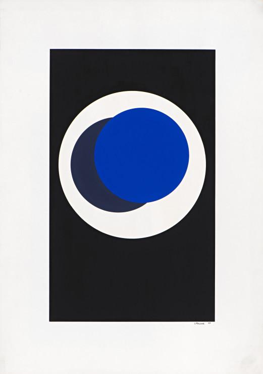 "<span class=""artist""><strong>Geneviève Claisse</strong></span>, <span class=""title""><em>Cercles</em>, 1966</span>"