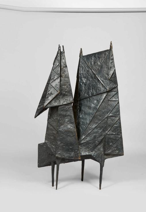 "<span class=""artist""><strong>Lynn Chadwick</strong></span>, <span class=""title""><em>Encounter VI</em>, 1956</span>"