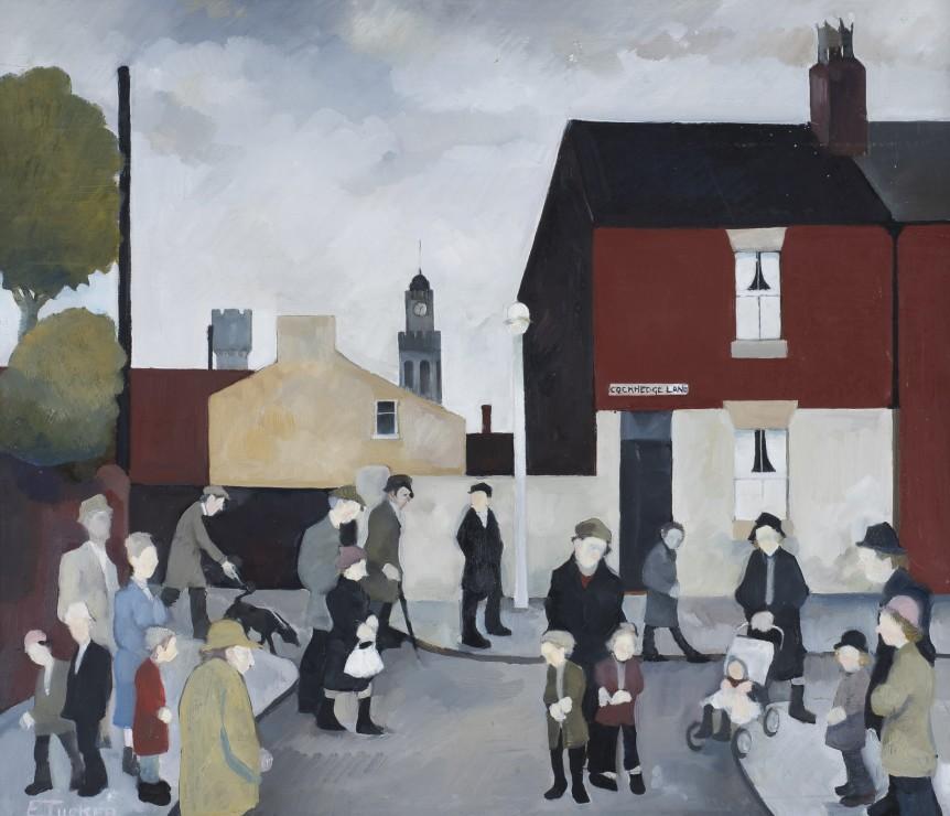 "<span class=""artist""><strong>Eric Tucker</strong></span>, <span class=""title""><em>View of Town Clock</em></span>"