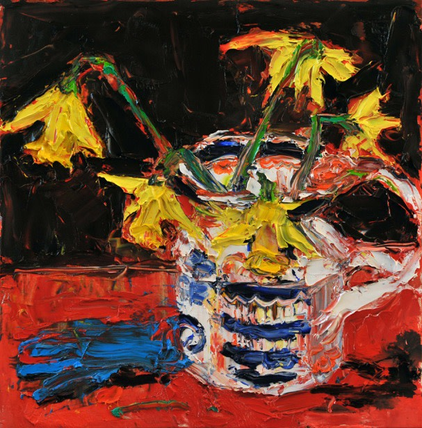 <span class=&#34;artist&#34;><strong>Shani Rhys James</strong></span>, <span class=&#34;title&#34;><em>Daffodils and glove</em>, 2018</span>