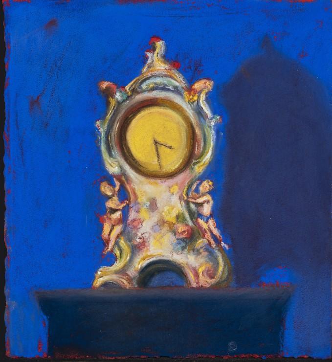 <p><strong>Paul Richards</strong>,<em>Clock</em>, 2019</p><p>SOLD</p>