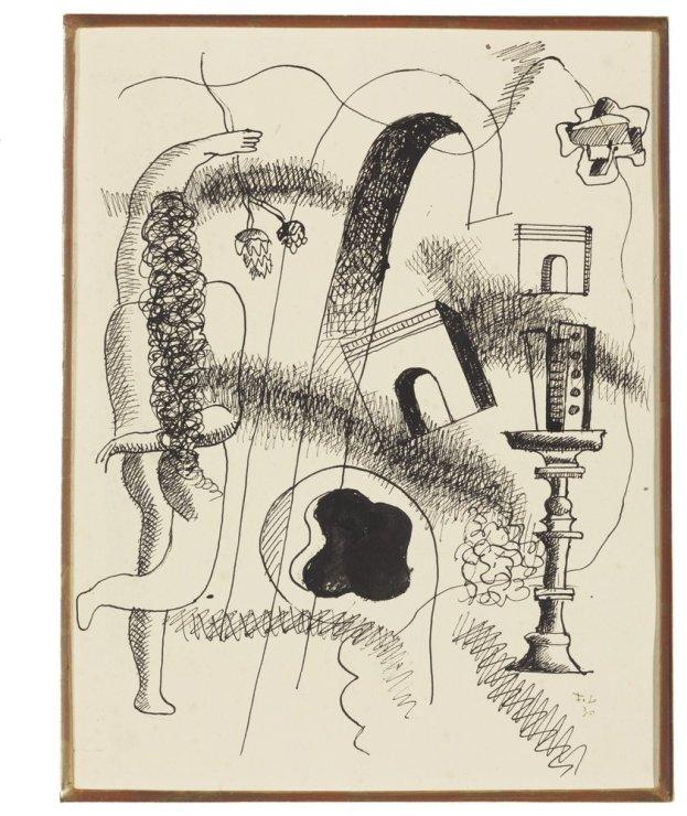 """<span class=""""artist""""><strong>Fernand Léger</strong></span>, <span class=""""title""""><em>Composition</em>, 1930</span>"""