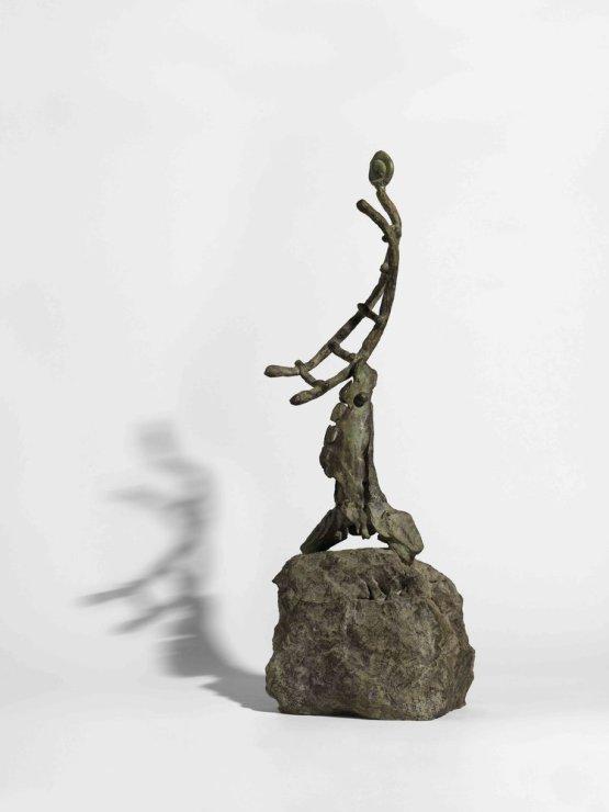 """<span class=""""artist""""><strong>Joan Miró</strong></span>, <span class=""""title""""><em>L'Échelle de l'évasion</em>, 1971</span>"""