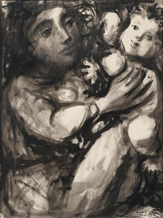 "<span class=""artist""><strong>Baltasar Lobo</strong></span>, <span class=""title""><em>Mere et enfant</em>, 1955</span>"