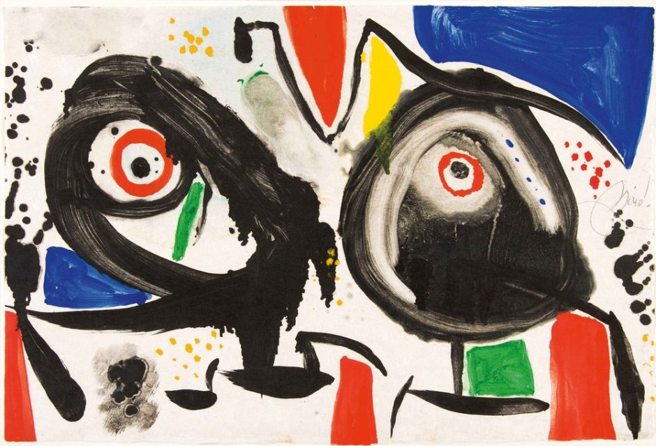 "<span class=""artist""><strong>Joan Miro</strong></span>, <span class=""title""><em>L'issue dérobée</em>, 1974</span>"