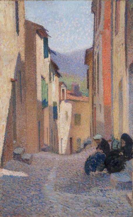 "<span class=""artist""><strong>Henri Martin</strong></span>, <span class=""title""><em>Rue ensoleillée, après-midi (Collioure)</em>, 1923</span>"
