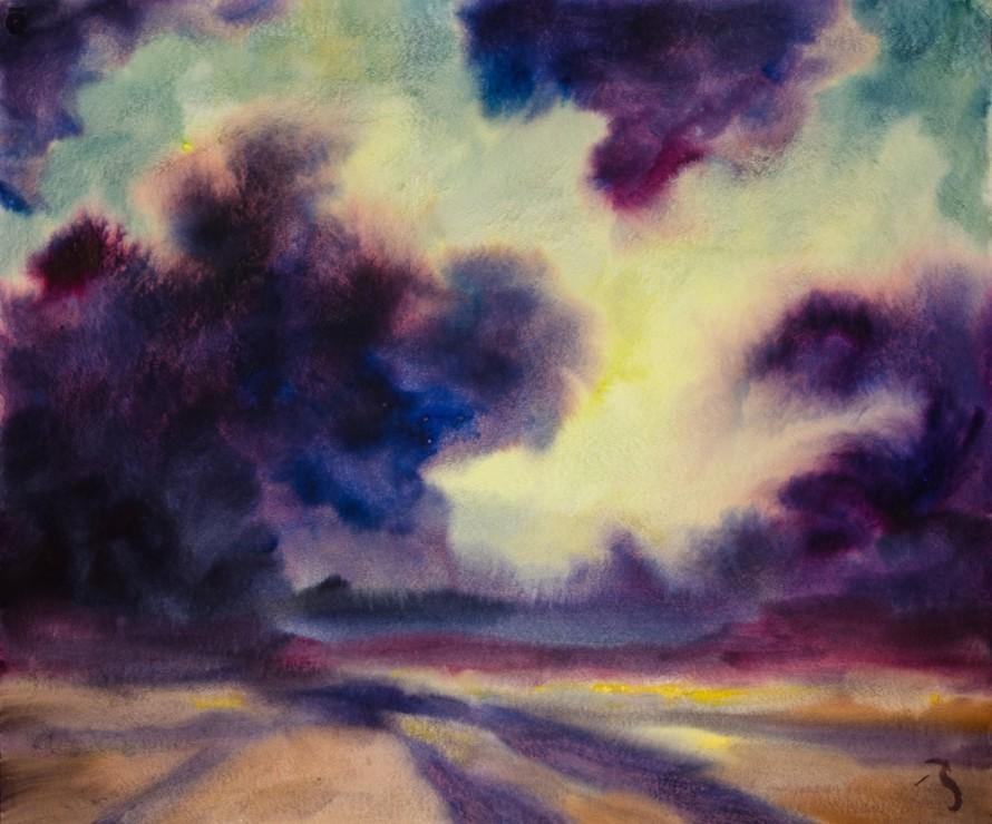 """<span class=""""artist""""><strong>Herbert Beck</strong></span>, <span class=""""title""""><em>Weite Landschaft</em>, c.2006</span>"""