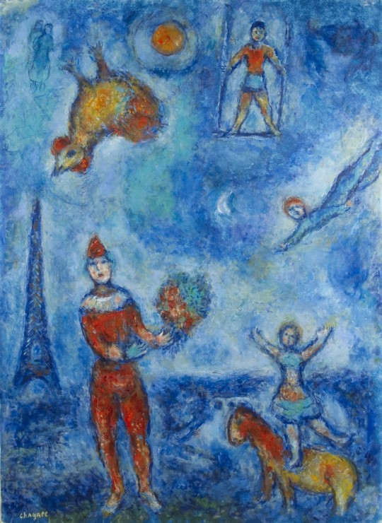 "<span class=""artist""><strong>Marc Chagall</strong></span>, <span class=""title""><em>Les Gens Du Voyage</em>, 1978</span>"