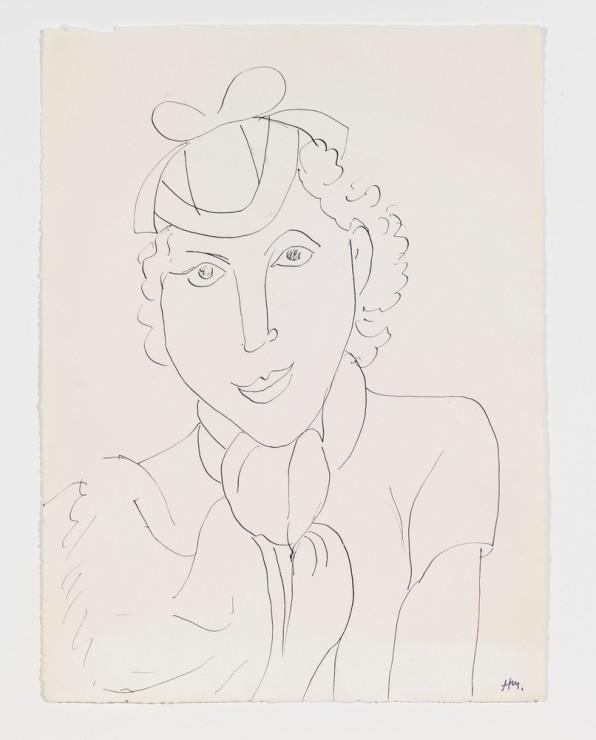 "<span class=""artist""><strong>Henri Matisse</strong></span>, <span class=""title""><em>Femme au chapeau</em>, 1936</span>"