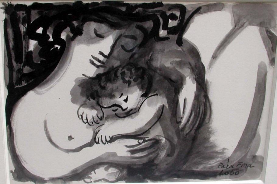 "<span class=""artist""><strong>Baltasar Lobo</strong></span>, <span class=""title""><em>Mere et enfant</em>, c. 1953</span>"