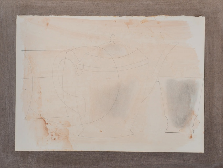 "<span class=""artist""><strong>Ben Nicholson</strong></span>, <span class=""title""><em>March 1960 (S. Coffee pot)</em>, 1960</span>"
