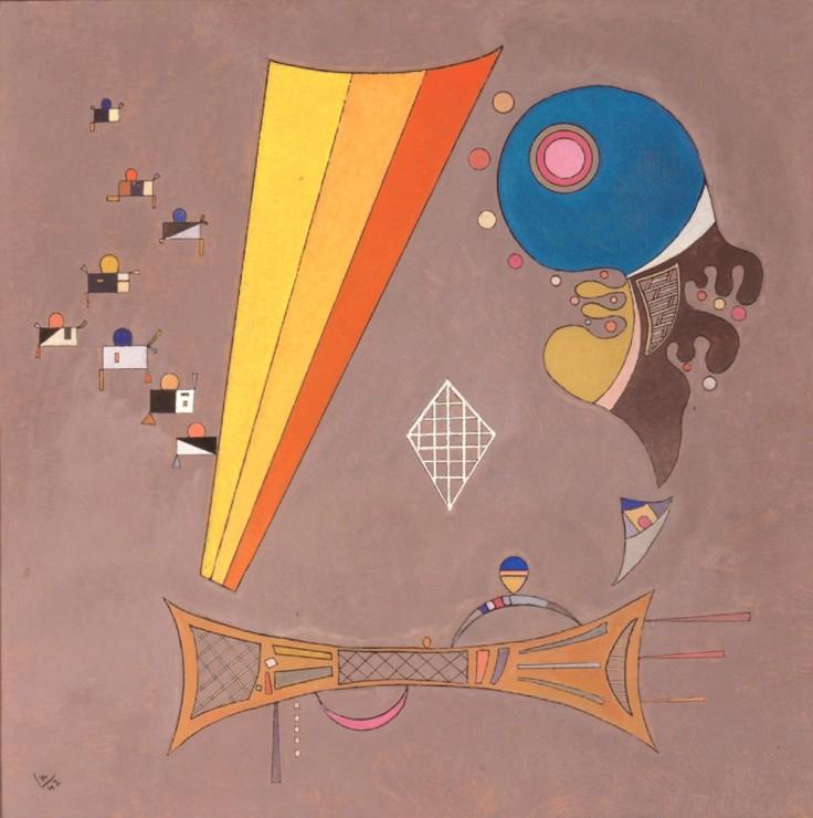 """<span class=""""artist""""><strong>Vassily Kandinsky</strong></span>, <span class=""""title""""><em>Au milieu</em>, 1942</span>"""