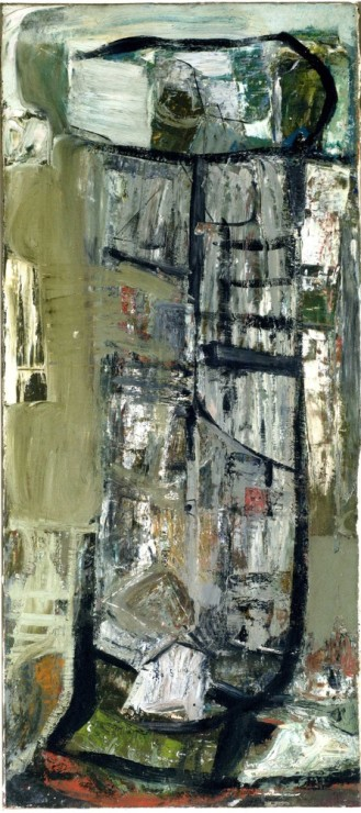 "<span class=""artist""><strong>Peter Lanyon</strong></span>, <span class=""title""><em>Anticoli Snow</em>, c.1953</span>"