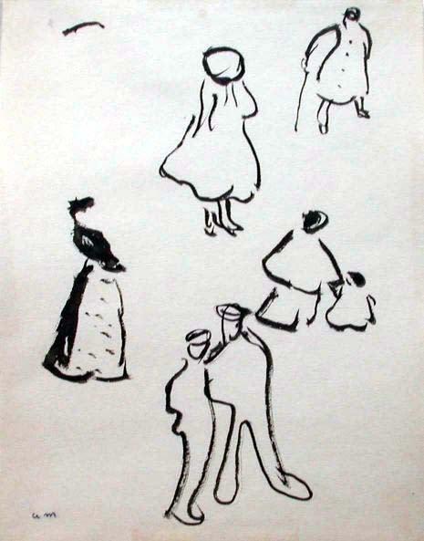 """<span class=""""artist""""><strong>Albert Marquet</strong></span>, <span class=""""title""""><em>Personnages</em>, 1916</span>"""