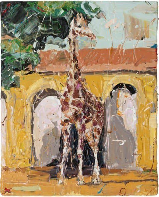 """<span class=""""artist""""><strong>Paul Richards</strong></span>, <span class=""""title""""><em>Giraffe</em>, 2010</span>"""