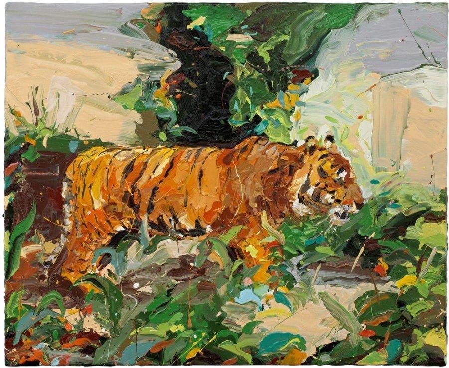"<span class=""artist""><strong>Paul Richards</strong></span>, <span class=""title""><em>Tiger</em>, 2010</span>"