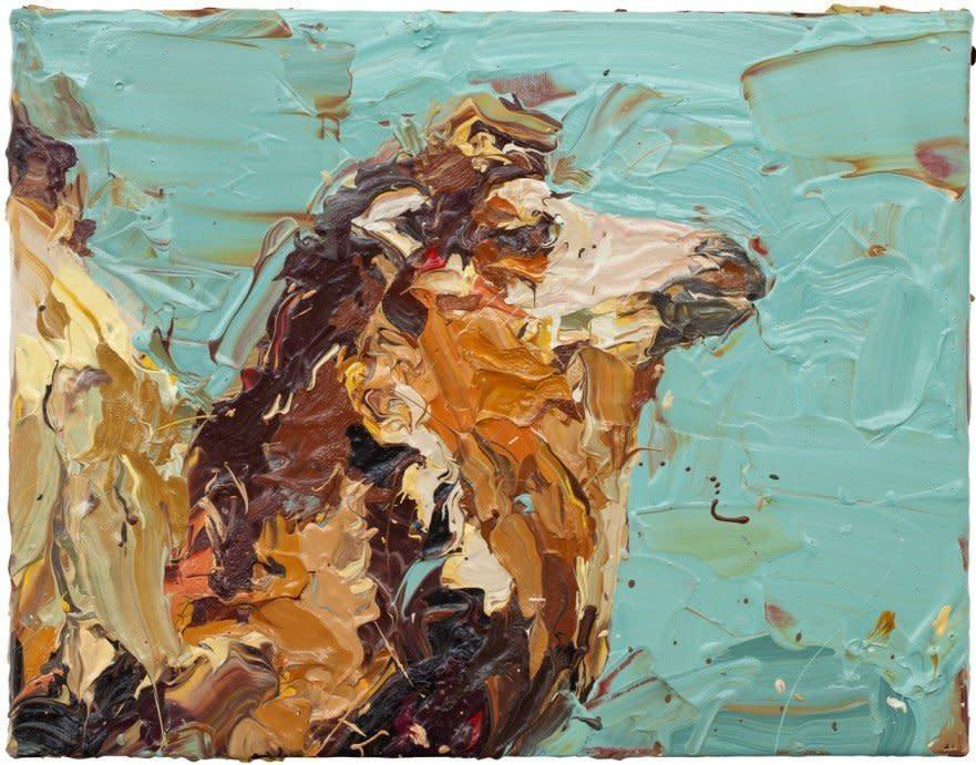 "<span class=""artist""><strong>Paul Richards</strong></span>, <span class=""title""><em>Camel Head Sideways</em>, 2010</span>"