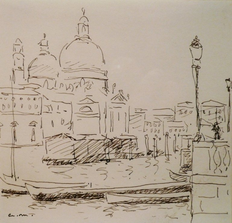 """<span class=""""artist""""><strong>Albert Marquet</strong></span>, <span class=""""title""""><em>Canal San Marco, Venise</em>, 1936</span>"""