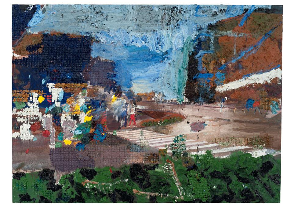 Evening Landscape, 2016 Juraj Kollar Oil on canvas 66 7/8 x 90 1/2 inches 170 x 230 cm