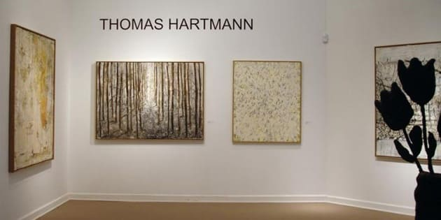 Thomas Hartmann exhibition installation