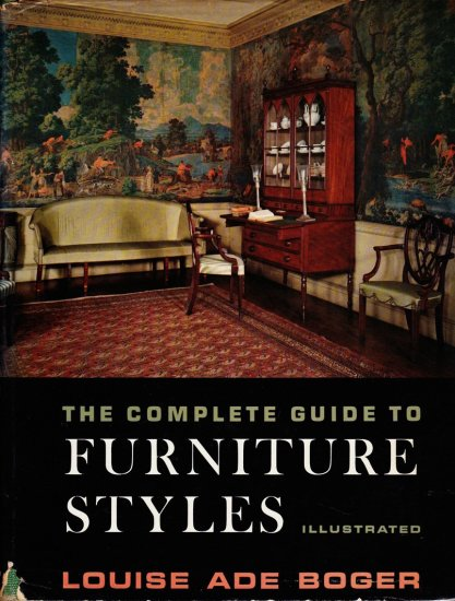The Complete Guide to Furniture Styles, Illustrated, 1961