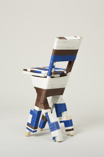 The Thread Wrapping Machine Chair 2, 2013