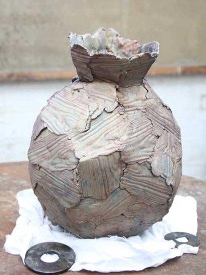 Wooden Vase A, 2011
