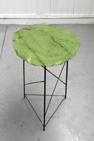 Wooden Table, Green 2, 2013