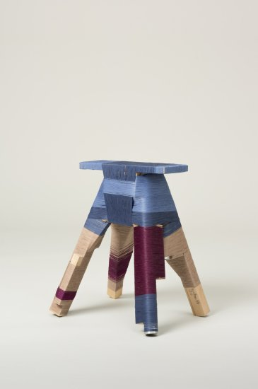 The Thread Wrapping Machine Stool 6, 2013