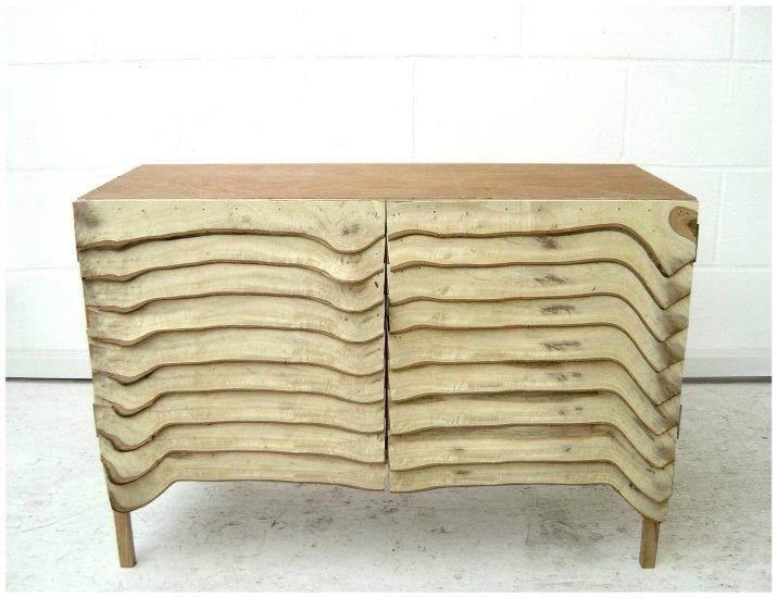 Thin Slice Cabinet, 2008