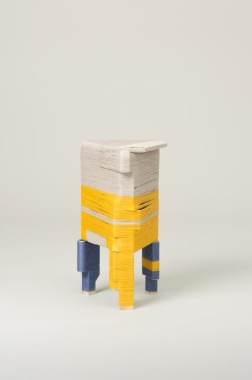 The Thread Wrapping Machine Stool 4, 2013
