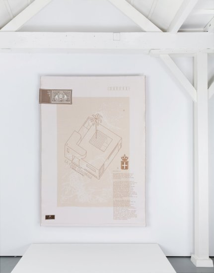 <p><strong>Formafantasma</strong>, Colony: Tripoli (Libya), 2011</p><p>Mohair wool, linen, unglazed ceramic, polyester</p><p>165 x 265</p><p>Edition of 12 plus 2 Artist's Proofs & 1 Prototype</p><p>Photography by Luisa Zanzani</p>