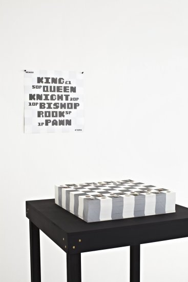 <p><strong>Studio Frith,</strong> Paper Chess, 2012</p><p>Paper</p><p>42 cms square</p><p>Edition of 300</p><p>Photography by Petr Krejci</p>