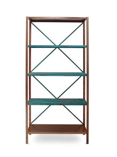 <p><strong>Lex Pott</strong>, Copper Green True Colour Shelves, 2011</p><p>Copper, oxide</p>