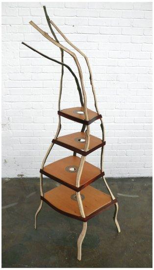 <p><strong>Peter Marigold</strong>, Octave series, 2007</p><p>Mixed woods (beech, rosewood, oak, Brazilian pine)</p><p>Edition of 12</p>
