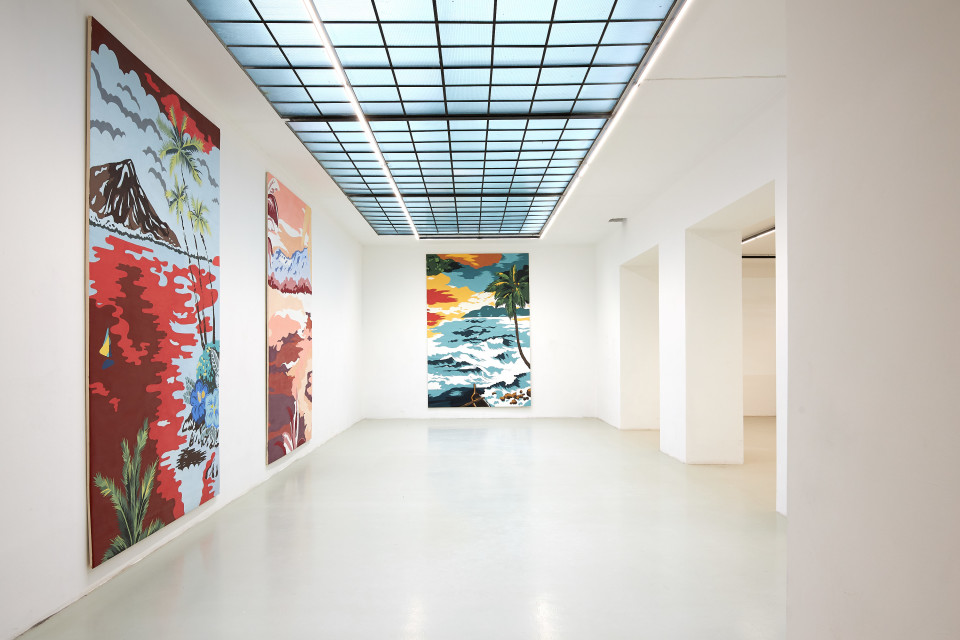 Grear Patterson Installation View II, Planes & Mountains, 2019